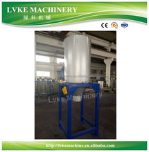 PP/PE film recycling machine with auto washing and pelletizing production