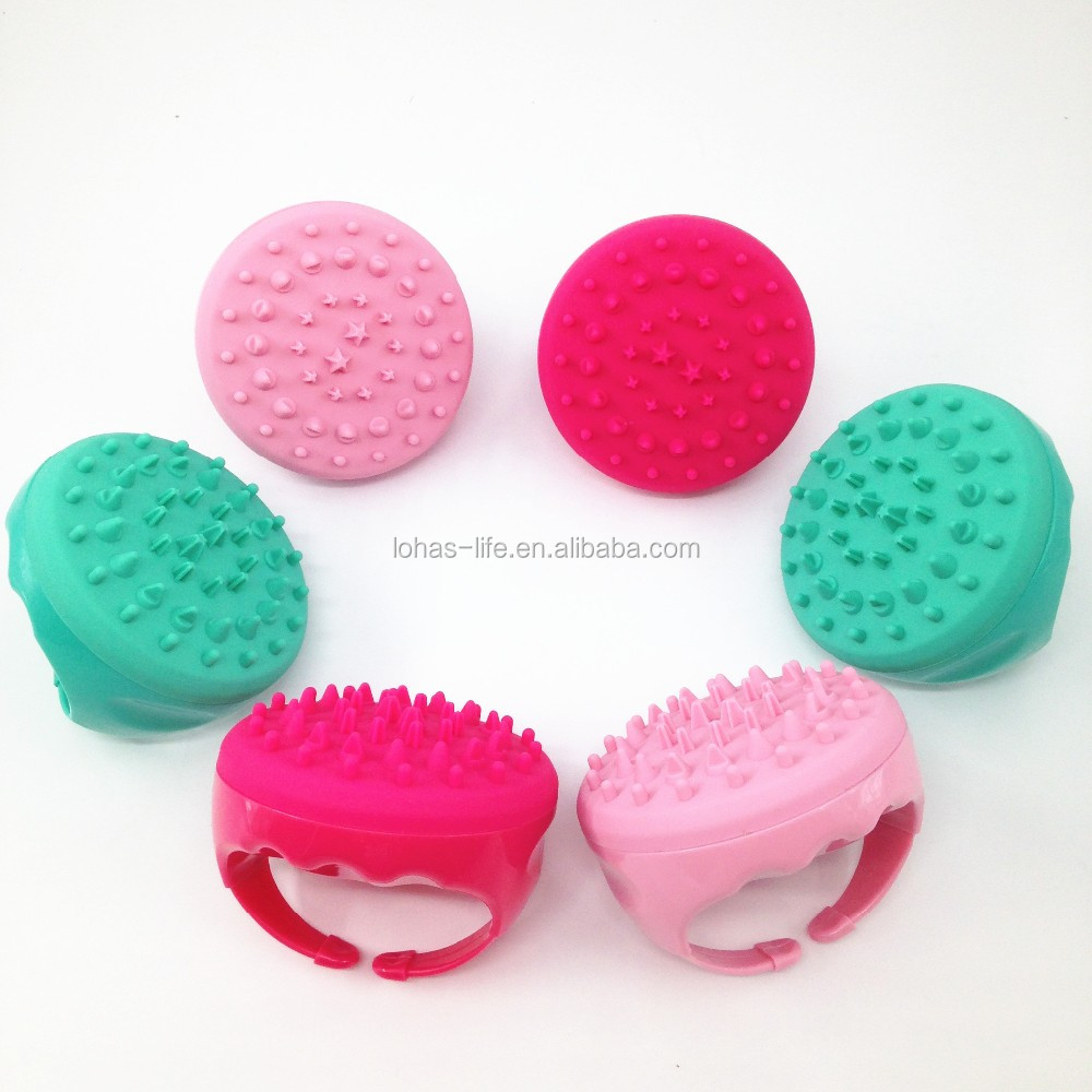 Silicone Handheld Body Massager Slimming Anti Cellulite Massage Brush