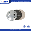 Electrical Weatherproof Round Covers Aluminum Gaskets