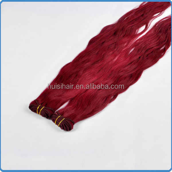 New fashion trending express ali artificial vagina hair extension shopping websites 3 bundles red brazilian hair weave
