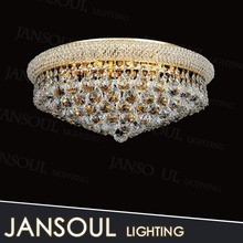 Jansoul custom-made indoor golden crystal ball light wedding hall decoration lamp