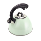 2.5 L yellow 304 Stainless Steel ceramic coating whistling water tea kettle