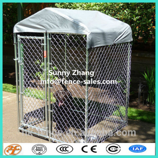 Temporary Dog Run : Temporary large animal crate dog boarding kennel cages