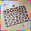 Giraffe skin bottom price hot sell memory foam crate mat