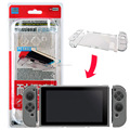Project Design Scratch Proof Transparent Crystal Clear Hard Protective Case Cover for Nintendo Switch NS for Joycon controller