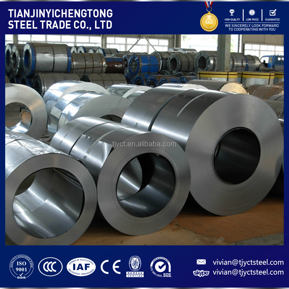 iso certified companies 304 stainless steel coil price per kg