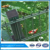 Bilateral wire Fence Curvy Welded Fence Triangular Bending Wire Mesh iron decorative garden fence