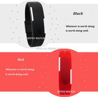 R0775 (*^__^*) ~ bling bling gift set watch for couples,digital led gift set watch for couples