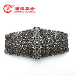 New Design Metal Two Part Joint Buckle for Lady's Belt