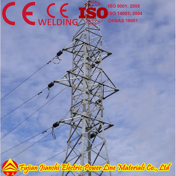 High Voltage Power transmission/Electric Steel Pylon