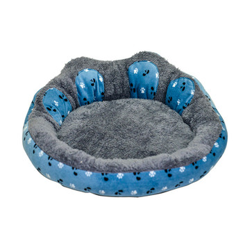 High Quality Factory Direct Sales Custom Cheap Dog Bed/Big Round Animal Dog Bed/Funny Cute Cotton Dog Bed Cushion With Pillow