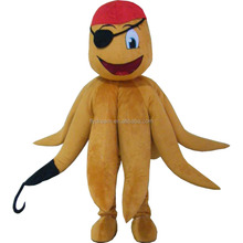 sea animal pirate octopus mascot costume for adults corsair octopus costume