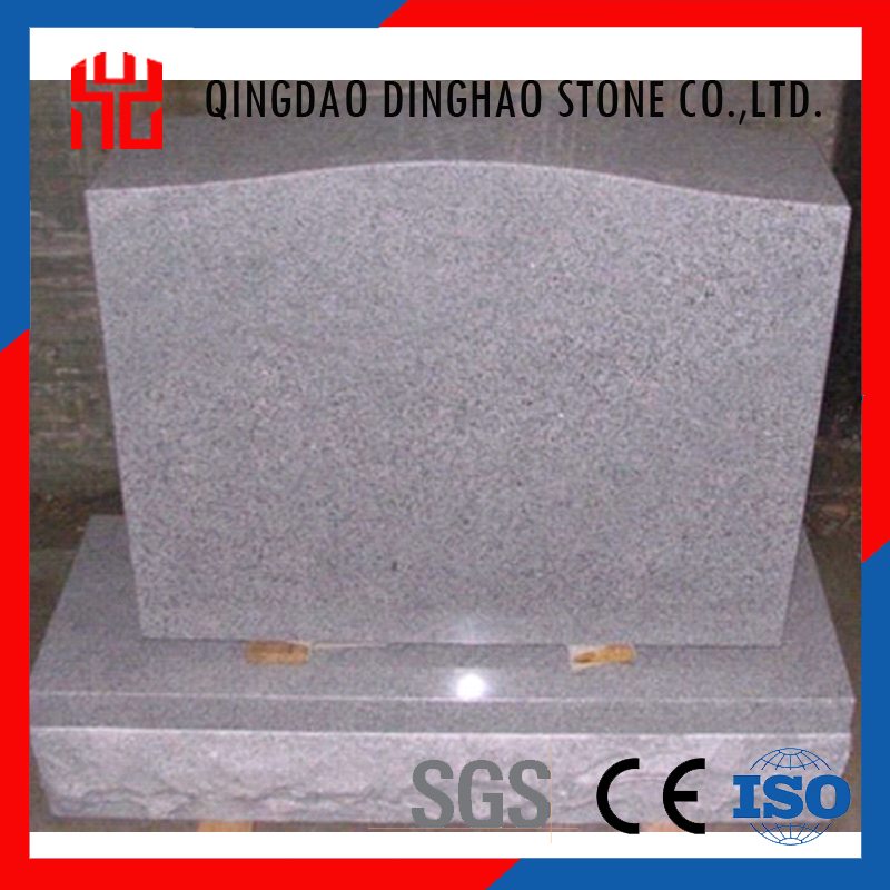 American gray granite tombstone design