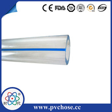 Square Hollow Plastic Tube Transparent PVC Pipe PVC Packing Tubes