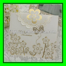 fancy paper foiled stamping happy new year greeting cards
