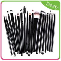 cosmetics brush set 20 ,H0T033 women beauty cosmetic brushes soft powder brush , fan shaped powder brush