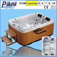 Corner Drain Location Type indoor whirlpool hot tubs