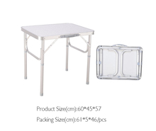 Small size folding table Portable folding table