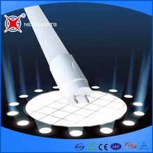 CE EMC RoHs certificated factory sale high lumen g13 t8 22w multicolor led tube lighting