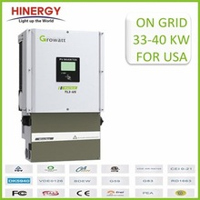 30kw power inverter solar to connect to solar panels for 30kw grid tied solar system