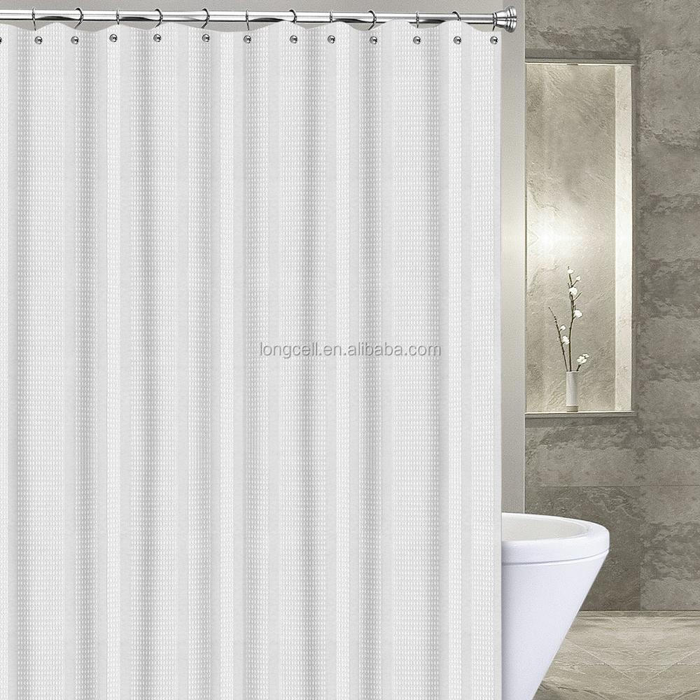 OEM bathing sheer mold resistant water proof shower curtain