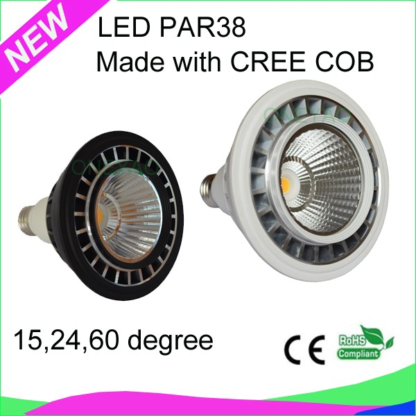 E27 RA80 white or black color 18W LED PAR38