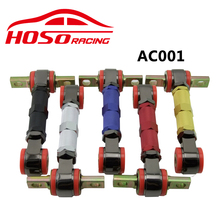 FOR HONDA CIVIC EF EG EK 88-00 HOSO RACING ADJUSTABLE SUSPENSION REAR UPPER CAMBER ARMS KIT