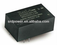 3w height 37mm ac dc converter 220 V AC 24 V DC converter,ac dc power converter
