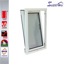 High quality laminated anti-theft guard two way opening window