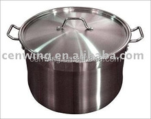 Large new stainles steel stock cooking pot
