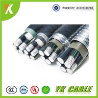 0.6/1KV Low Voltage Aluminum Conductor PVC Insulation Wire Cable
