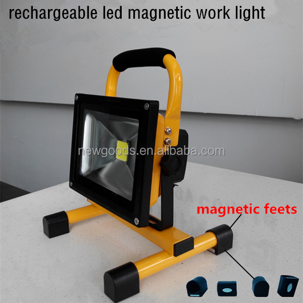 outdoor light with magnetic base rechargeable led flood light buy. Black Bedroom Furniture Sets. Home Design Ideas