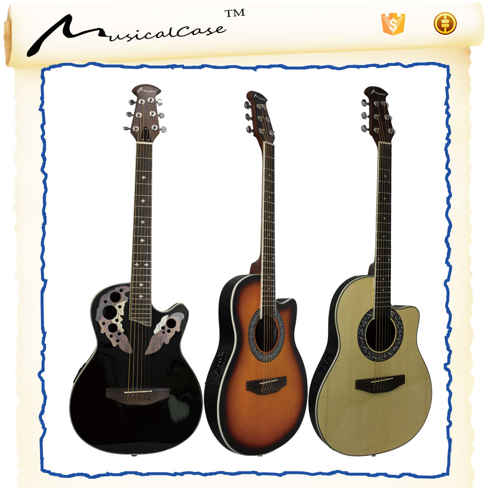 Hot selling christmas gifts for boyfriend of accoustic guitar with 41inches steel brass string acoustic guitar store