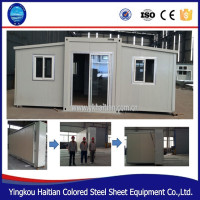 Export prefab guest house prefabricated apartment mobile low cost kit homes portable cheap 2 bedroom modular house plan