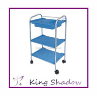2015 new design trolley tool trolley Wholesale hair coloring station