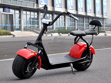 Good quality OEM export EEC 2017 Harley electric scooter 800w 1000w 1500w citycoco electric scooter with big wheels front fork