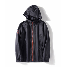 <strong>Mens</strong> fashion Detachable hooded thin bump color Zipper bomber <strong>jacket</strong> fashion Black Long Sleeves <strong>mens</strong> coat thin