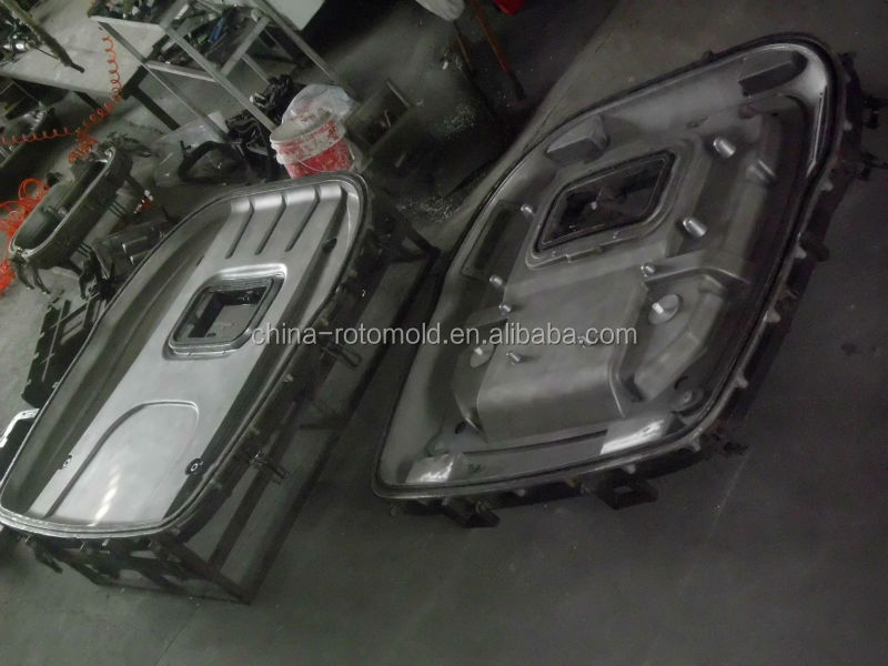 Rotational mould for tractor roofs, tractor overhead guard aluminum roto mold,vehicle ceiling/canopy mould