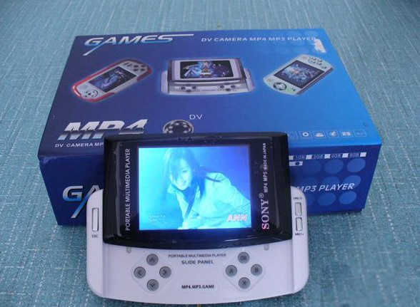 Free Download games 2.8inch Sliding MP3 MP4 MP5 game Player MP5 Music player.