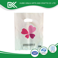 Special garment plastic bag with new design