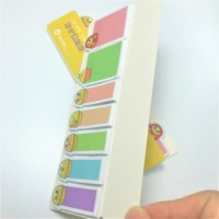 Manufacturer supply Cute Animal Sticker Bookmark Memo with Flags Index Tab