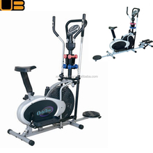 China Factory Elliptical Home Eexercise Bike With Twister and 5 Windows Monitor Orbitrack Bike