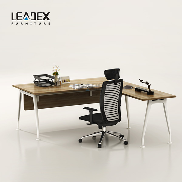 High grade modern white manager desk office interior design