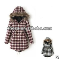 C60829A 2013 NEWEST WINTER FASHION KOREAN STYLE LADY'S THICK OVERCOAT