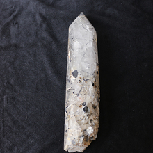Wholesale Black Tourmaline Rutilated Wand Polished Black Rutilated Quartz Crystal Healing Point