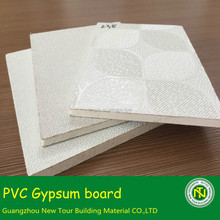 PVC gypsum ceiling tiles building material