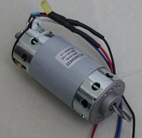 shredder small brushed dc motor