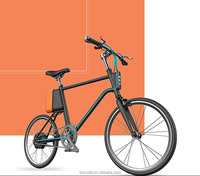 New design long range 75KM PAS Aluminum Alloy non-foldable 20 inch electric bicycle smart bike