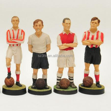 4 inch custom made football players,world cup football action figures China facory