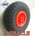 Contemporary promotional Solid PU Foam Wheel, pu foam tyre rubber wheel 3.00-4 10inch